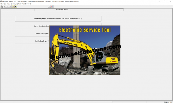 New Holland Electronic Service Tool 8.7