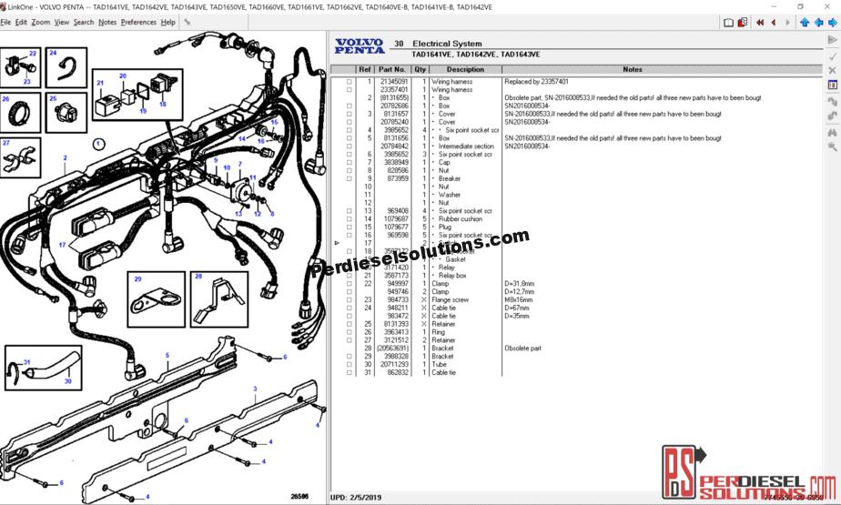 Volvo Parts Diagram Sp - Wiring Diagrams ROCK