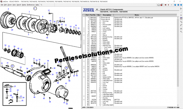 Volvo Penta Electronic Parts Catalog 2019