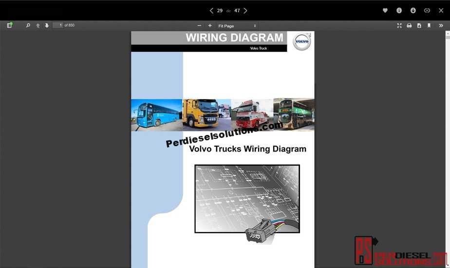 Volvo Trucks Wiring Diagrams Full PDF - PerDieselSolutions | Volvo B12b Wiring Diagram |  | PerDieselSolutions