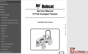 Bobcat Service Library 08.2017 full pdf pdf