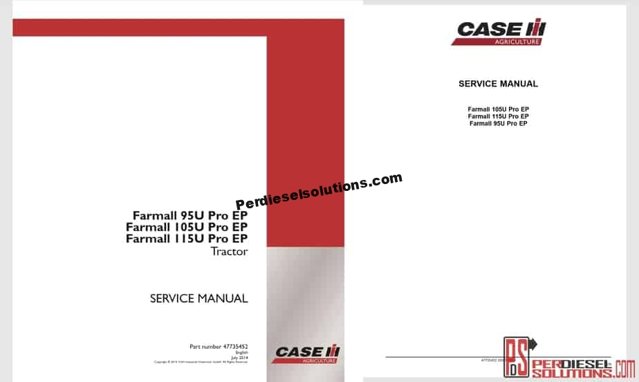Case All Kind Machine New Models Service Manual 2019 Complete Set PDF [145  GB]