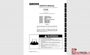 Grove Service Manual Complete PDF