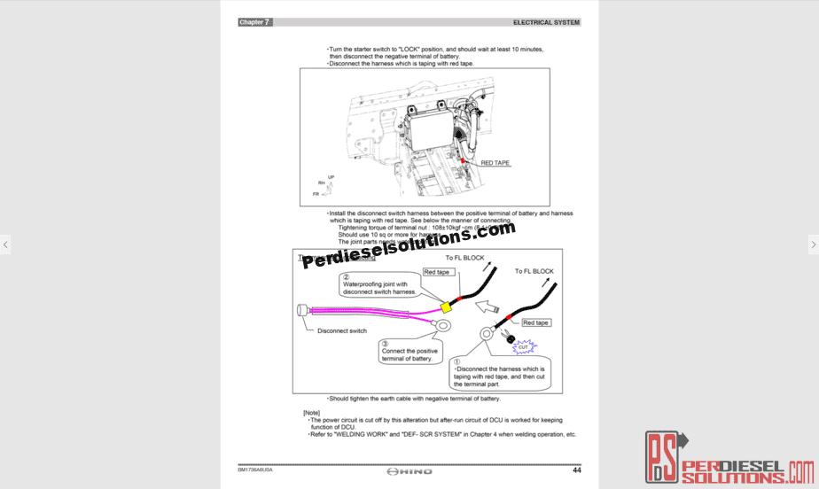 Hino 300 Series Wiring Diagram