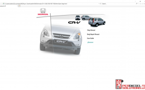 Honda Workshop manual full pdf