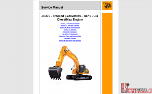 JCB repair manual 2019 new models