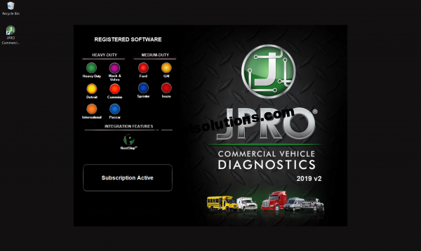 JPRO Commercial Vehicle Diagnostics 2019 v2
