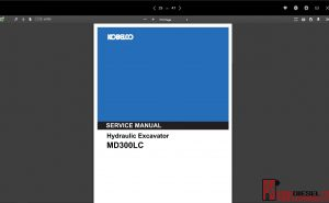 Kobelco Service Manual New Manual 2019 PDF