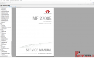 Massey Ferguson Workshop Service Manual 07.2019