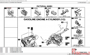 Mazda EPC II General Spare Parts Catalog