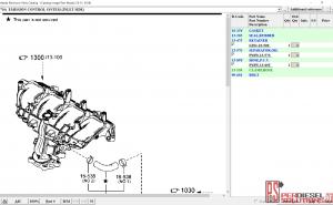 Mazda Electronic parts catalog