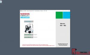 Nissan forklift Truck 2013