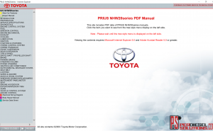 Toyota Worshop Manual Full Pdf