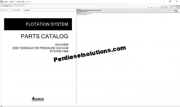 Ag-Chem Parts Catalog 2019