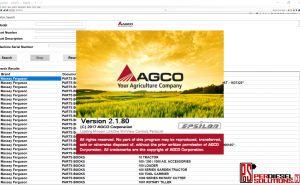 Agco Agricultural [07.2019] All Database North America NA