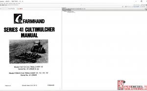 Agco Farmhand parts books & Service Bulletins