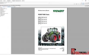 Agco Fendt 07.2019 Parts Books & Workshop service manual