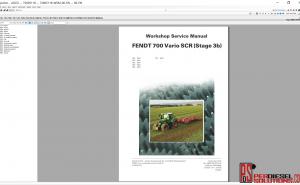 Agco Fendt Parts Books & Workshop service manual 2019