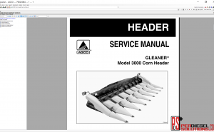 Agco Gleaner NA 2019 parts books & Workshop Service Manuals