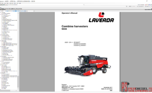 Agco Laverda UK 2019 parts books & workshop service manuals