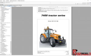 Agco Massey Ferguson 07.2019 Parts Books & Workshop Service Manuals