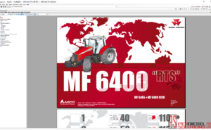 Agco Massey Ferguson Parts Books & Workshop Service Manuals