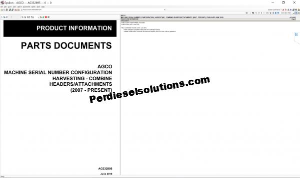 Agco NA parts books & Service Workshop Manuals