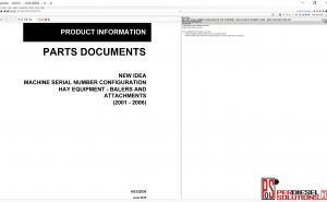 Agco New Idea NA [07.2019] Part Books & Workshop Service Manuals