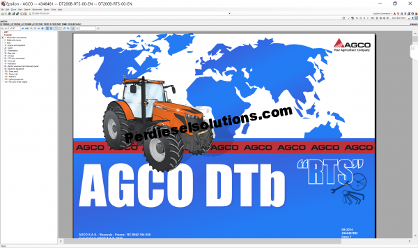 Agco North America NA [07.2019] Part Books & Workshop Service Manuals