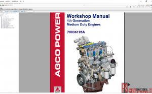 Agco Parts 07.2019 Parts Books & Workshop manuals