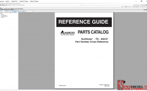 Agco Sunflower NA Parts books