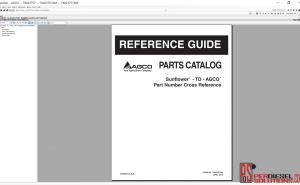 Agco Sunflower NA Parts books