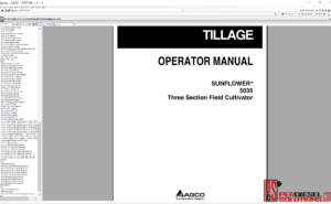 Agco Sunflower UK parts Books &Service Bulletins