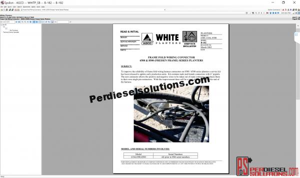 Agco White Planters 07.2019 parts books & Workshop Service Manuals