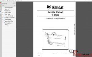 Bobcat Attachment, Implement A-B Maintenance Manuals