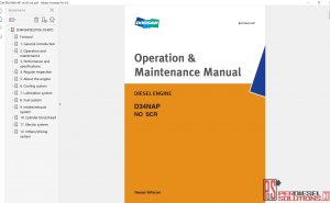 Bobcat Engine Service Library 2017 service manual