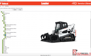Bobcat Loader Service Library