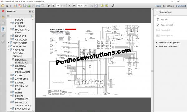 Bobcat Loader Service Manual pdf