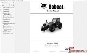 Bobcat telescopic Handler Service Library 12.2017