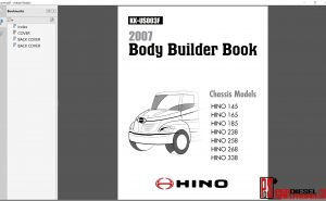 Hino Trucks Body Bulder Book 2007