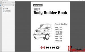Hino Trucks Body Bulder Book 2007