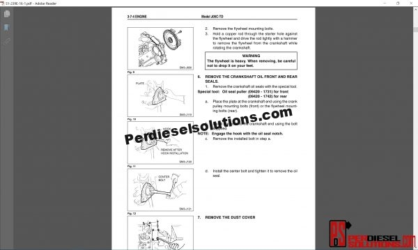 Hino Trucks workshop manual 2004 pdf