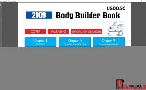 Hino Trucks workshop manual 2009 PDF