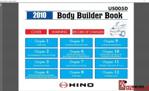 Hino Trucks workshop manual 2010