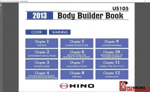 Hino Trucks workshop manual 2013 pdf