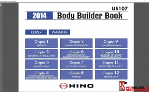 Hino Trucks workshop manual 2014 pdf