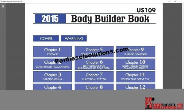 Hino Trucks workshop manual 2015 pdf