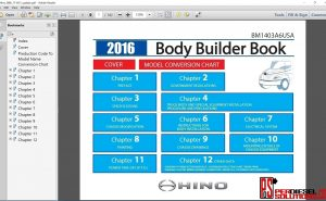 Hino Trucks workshop manual 2016 pdf