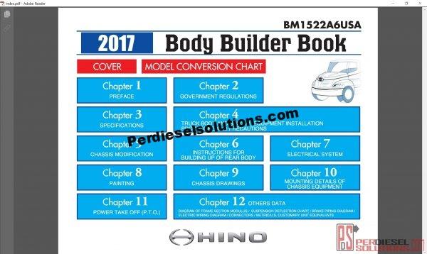 Hino Trucks workshop manual 2017