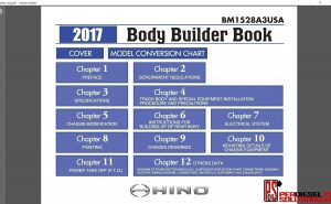 Hino Trucks workshop manual 2017 pdf